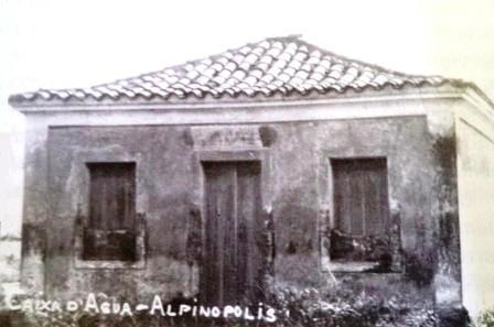 Antiga Caixa D'Água de Alpinópolis, localizada no bairro Rosário. Foto: Alexandre Cardoso